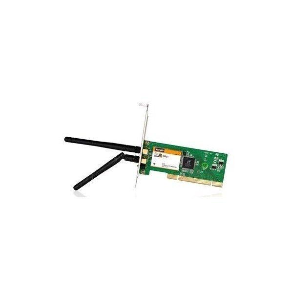 WiFi-адаптер TENDA W322P+802.11n 300Mbps, 2внешн с'емн.антенни, PCI фото