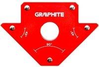 Магнитный сварочный угольник VERTO GRAPHITE 56H902