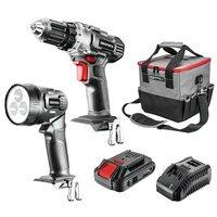 Набор аккумуляторного инструмента + зарядное устройство GRAPHITE Energy+ 58G016