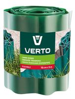 Лента VERTO газонная 15 cm x 9 m, зеленая 15G511