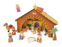 Игровой набор Janod Рождественская сцена (J04538)