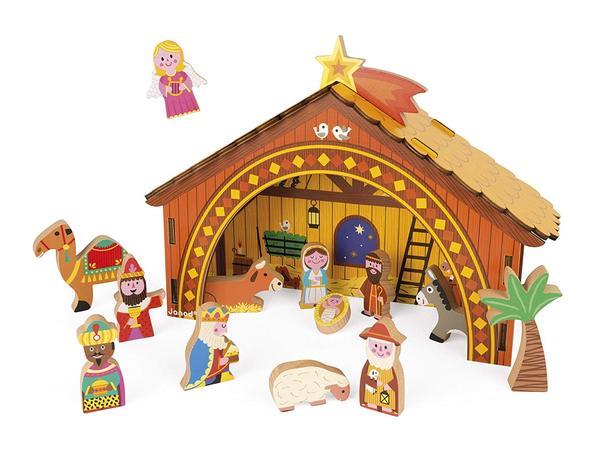 Купить Игровой набор Janod Рождественская сцена (J04538)
