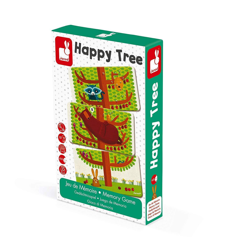 Настольная игра мемо Janod Счастливое дерево (J02761) фото