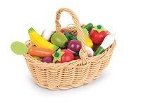 Игровой набор Janod Корзина с овощами и фруктами 24 элемента (J05620)