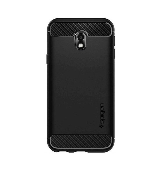 Чехол Spigen для Galaxy J3 (J330) /J3 DUOS/J3 Pro (2017) Rugged Armor Black