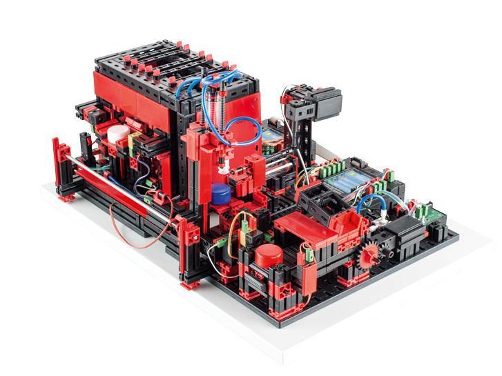 Конструктор fisсhertechnik Trainingsmodelle Мультипроцессинговая станция FT-536627 фото 1