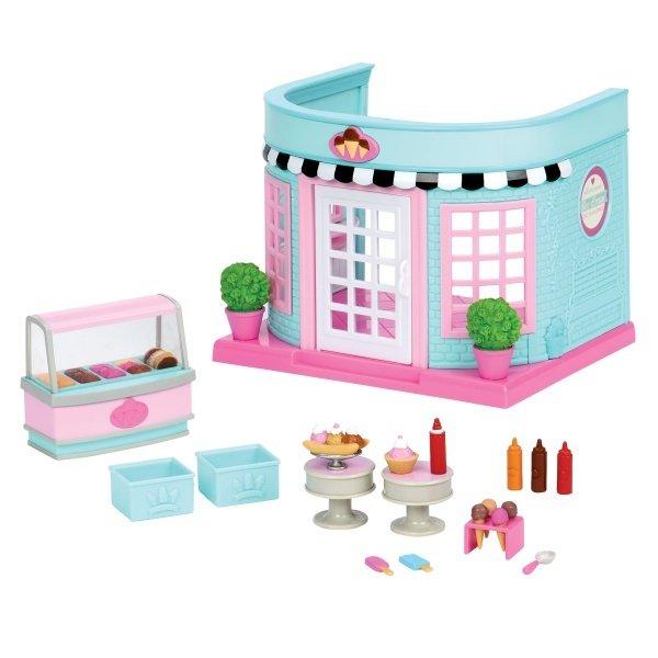 Купить Игровой набор Li'l Woodzeez Павильон с мороженым маленький (6162Z), LI L WOODZEEZ