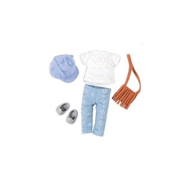 Купить Набор одежды для кукол LORI с сумкой (LO30022Z)
