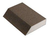 Брусок шлифовальный эластичный Klingspor SK 700A 125X89X25, Р60, 4-сторонний