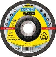 Отрезной круг по металлу Klingspor 125х0,8х22,23 Kronenflex A 980 TZ SPECIAL