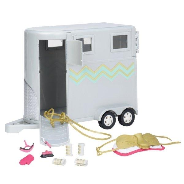 Купить Транспорт для кукол LORI Трейлер для лошади (LO37020Z)