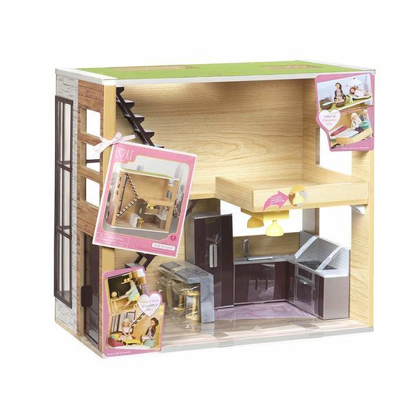 Купить Игровой набор LORI Деревянный дом (LO37004Z)