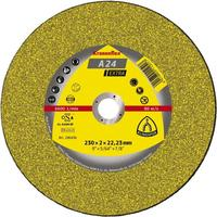 Отрезной круг по камню Klingspor 230х3х22,2 Kronenflex C24 Extra