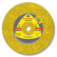 Отрезной круг по металлу Klingspor 230х2х22,2 Kronenflex A24 Extra