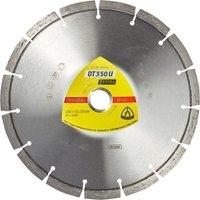 Круг алмазный отрезной Klingspor EXTRA DT350U 230x22,23