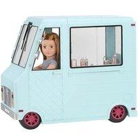 Транспорт для ляльок Our Generation Фургон з морозивом і аксесуарами (BD37252Z)