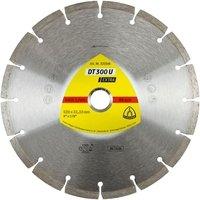 Круг алмазный отрезной Klingspor EXTRA DT300U 125x22,23