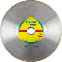 Круг алмазный отрезной по керамической плитке, керамограниту Klingspor SUPRA DT600F 125Х22,23