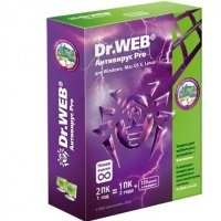 Антивирус Dr.Web Антивирус Pro 2 ПК, 12 мес Софтпром (AHW-A-12M-2-A1)