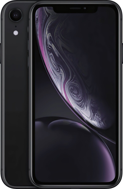 Смартфон Apple iPhone XR 64GB Black (slim box) (MH6M3) фото