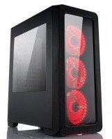 Cистемный блок Vinga CS209B Red 0000 (A36E5W51U0VN)