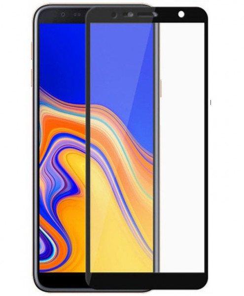 Купить Стекло MakeFuture для Galaxy J4 Plus/J6 Plus 2018 Full Cover Full Glue Black