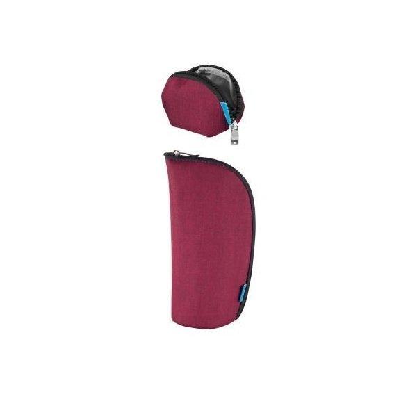 Купить Набор кошелек, чехол для пустышки MyMia бордовий (NV8806BORDEAUX)