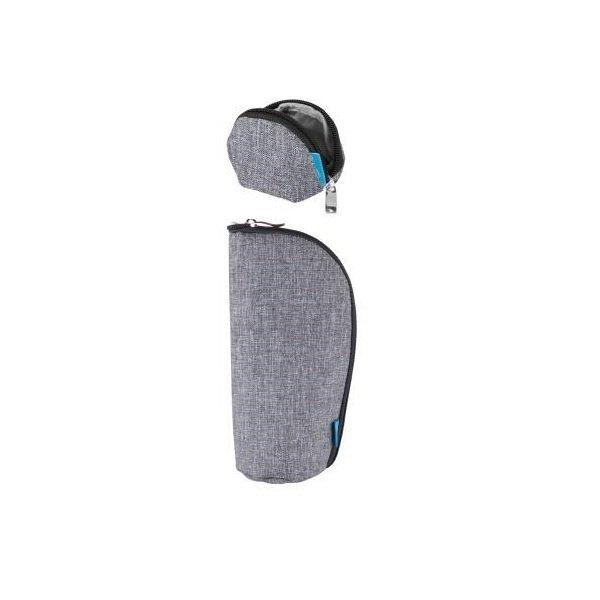 Набор кошелек, чехол для пустышки MyMia серый (NV8806GREY)  - купить со скидкой