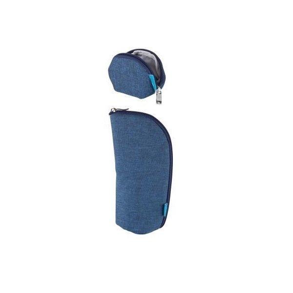 Купить Набор кошелек, чехол для пустышки MyMia синий (NV8806NAVY)