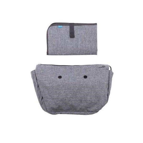 Купить Набор подкладка и коврик для пеленания MyMia серый (NV8802GREY)