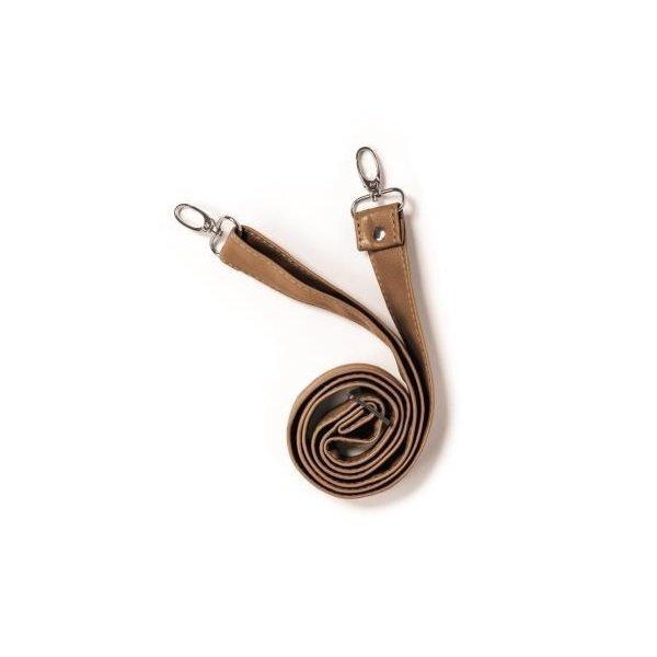 Купить Плечевой ремень эко-кожа MyMia коричневый (NV8804CAMEL)
