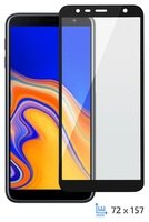 Стекло 2E для Galaxy J6+ 2018 (J610) 3D Black Border