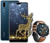 Смартфон Huawei P20 (EML-L29) DS Midnight blue