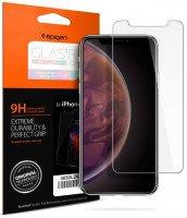 "Стекло Spigen для iPhone XS Glass ""Glas.tR SLIM HD"""