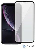 "Стекло 2E для Apple iPhone XR 6.1"" 3D Black FG"