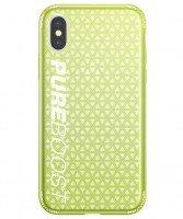Чехол Baseus для iPhone X/Xs Parkour Lemon Green