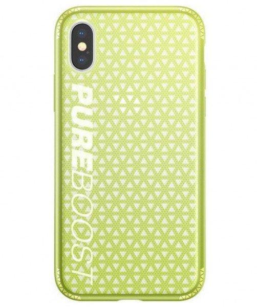 Купить Чехол Baseus для iPhone X/Xs Parkour Lemon Green