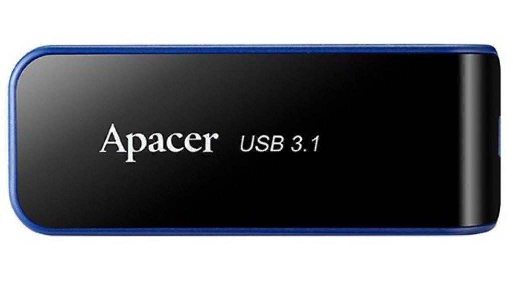 Накопитель USB 3.0 APACER AH356 64GB Black (AP64GAH356B-1) фото