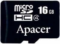 Карта памяти Apacer microSDHC 16GB Class 4 R5MB/s