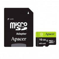 Карта памяти Apacer microSDHC 16GB UHS-I U3 R95/W45MB/s + SD-адаптер
