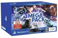 Очки виртуальной реальности SONY PlayStation VR MegaPack (5 игр в комплекте) (9785910)