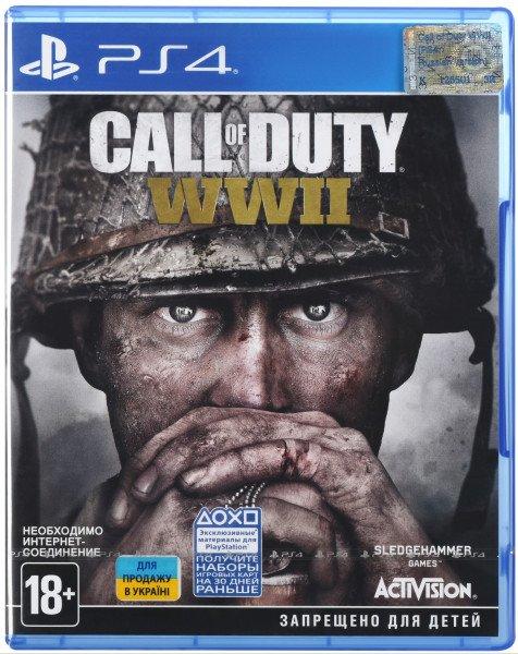 Купить Игра Call of Duty WWII (PS4, Русская версия), Games