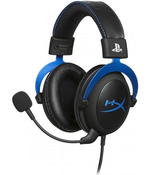 Игровая гарнитура HyperX Cloud for PS4 Black/Blue (HX-HSCLS-BL/EM) фото