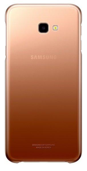 Акция на Чехол Samsung для Galaxy J4+ (J415) Gradation Cover Gold от MOYO