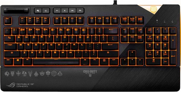 Купить Игровая клавиатура ASUS ROG STRIX FLARE USB MX Cherry Brown Call of Duty (90MP00M1-B0UA02)
