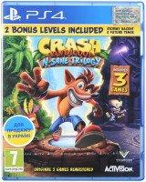 Игра Crash Bandicoot N'sane Trilogy (PS4, Английский язык)