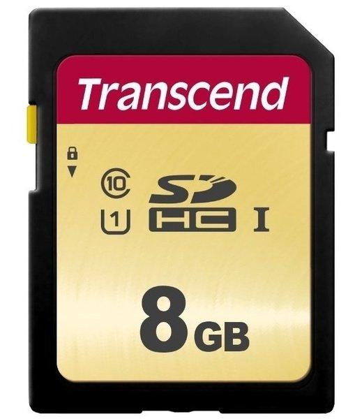 Карта памяти TRANSCEND SDHC 8GB Class 10 UHS-I U1 R95/W45 MB/s (TS8GSDC300S)