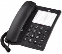 Телефон шнуровой 2E AP-310 Black