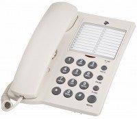 Телефон шнуровий 2E AP-310 White