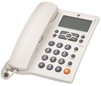 Телефон шнуровой 2E AP-410 White